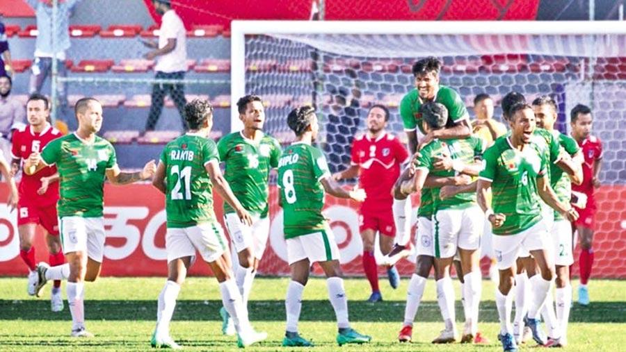 Nepal ends Bangladesh's SAFF final hope